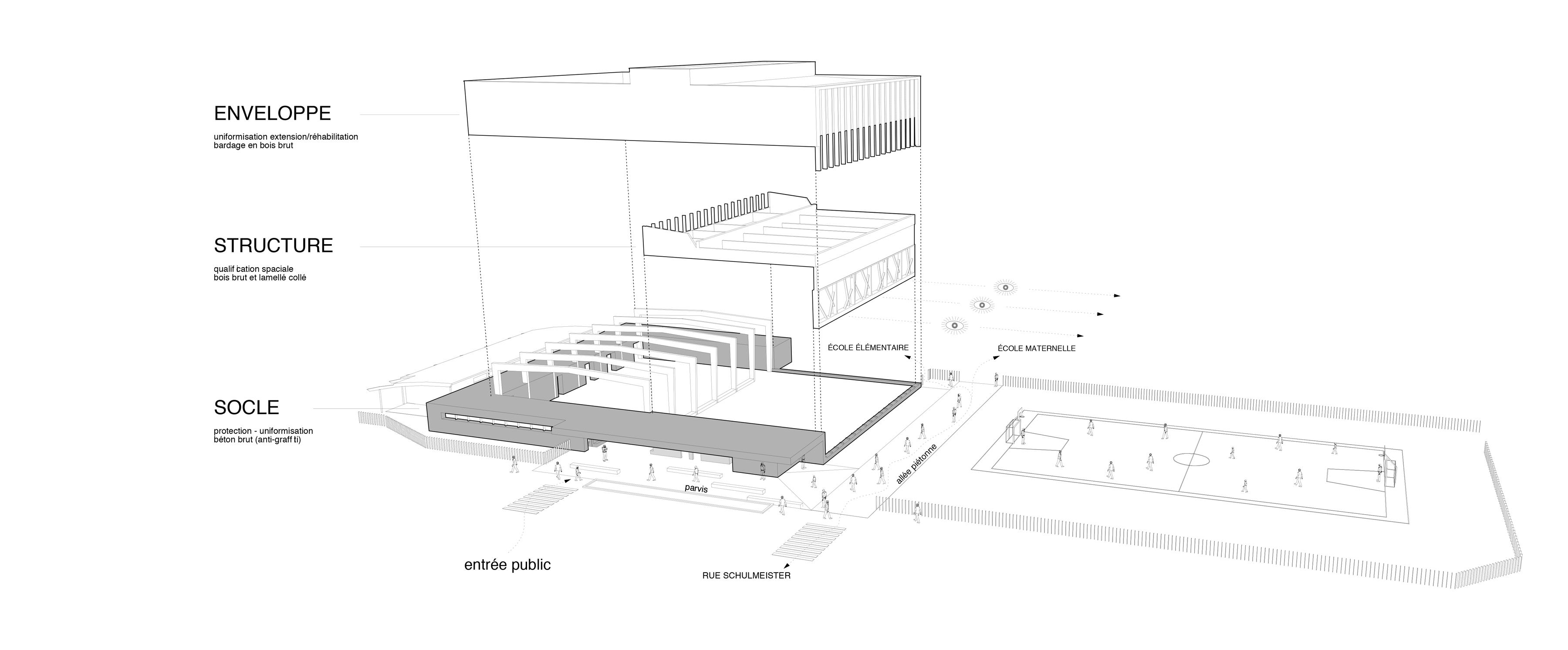 Photo - axonométrie