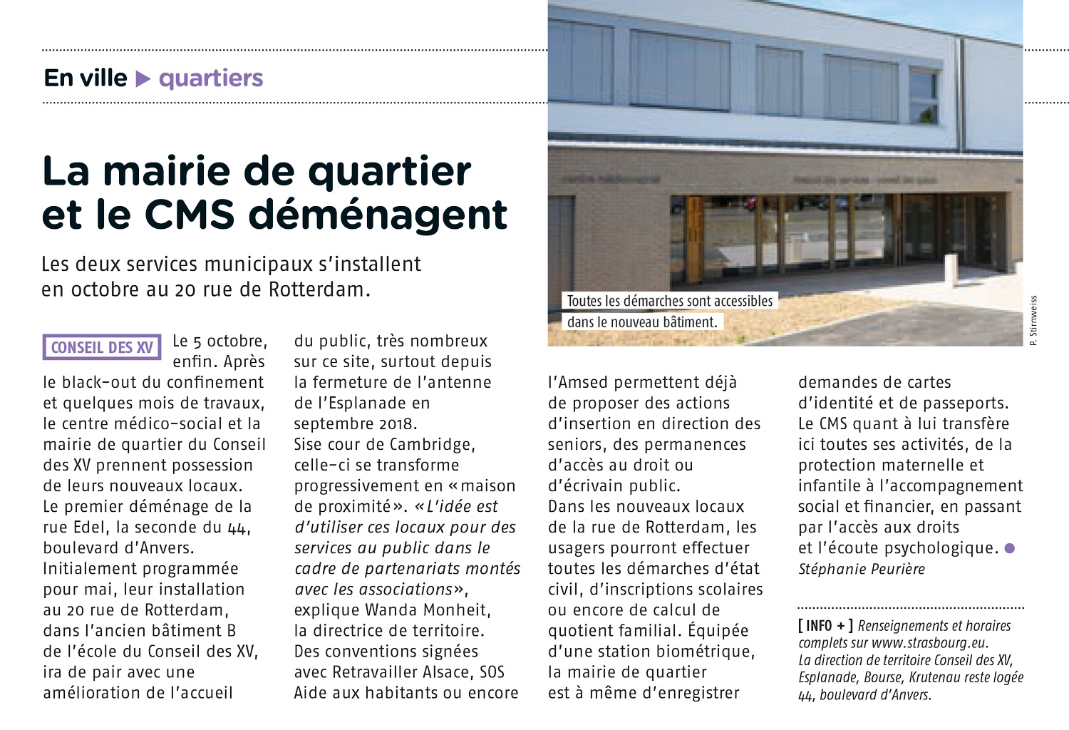 Photo - MdS-publication-strasbourg-mag-article